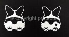 Pembroke Welsh Corgi Dog Sploot Vinyl Window Art Decal Sticker -Oracal 651