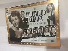 New HOLLYWOOD CLASSICS: The GOLDEN AGE OF THE SILVERSCREEN  10DVD 32 Hours