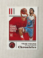 TRAE YOUNG 2018-19 Panini Chronicles ROOKIE RC #94! HAWKS! CHECK MY ITEMS!