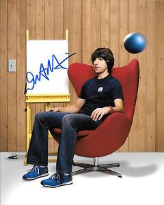 GFA Stand-up Comedian DEMETRI MARTIN Signed 8x10 Photo D6 COA