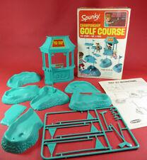 Vintage 1967~Remco~Spunky~ Championship Golf Course~ Heidi Pocketbook Dolls Set