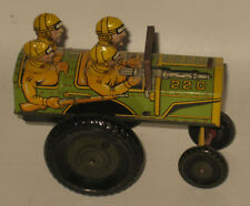 Vintage Marx Jumpin Jeep Tin Litho Wind-up Toy Works #BY51