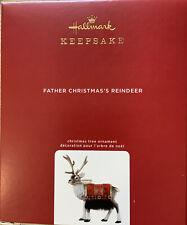 Hallmark 2020 Father Christmas Reindeer Limited Edition Ornament