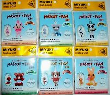 Miyuki Beads and Crafts Beaded Charm Mascot Fan Kit Choose Animal Style