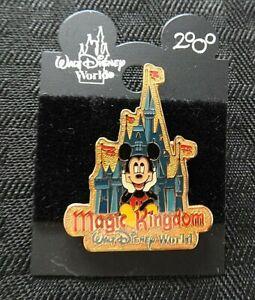 "Walt Disney World 2000 LE ""MICKEY MOUSE CINDERELLA'S CASTLE MAGIC KINGDOM"" PIN"
