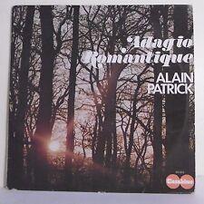 """33T Alain PATRICK Disque LP 12"""" ADAGIO ROMANTIQUE - CARABINE 26503 Frais Reduit"""
