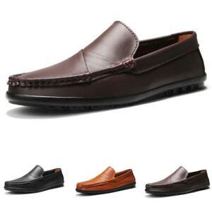 38-44 Men Business Leisure Shoes Driving Moccasins Pumps Slip on Loafers Comfy D