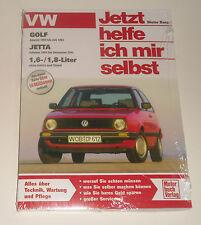 Reparaturanleitung VW Golf 2 + Jetta II mit 1,6 / 1,8 liter, ab Bj. 1983
