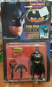 1990 Kenner Crime Attack Batman Dark Knight Collection MOC, very nice shape