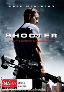 Shooter DVD Movie MARK WAHLBERG Michael Peña ACTION THRILLER BRAND NEW R4