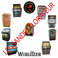 Wurlitzer Jukebox  Repair Service Manual & schematics     300 PDF manuals on DVD