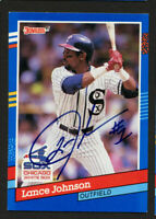 Lance Johnson #259 signed autograph auto 1991 Donruss Baseball Trading Card