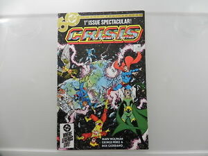 Crisis On Infinite Earths 1-12 All Twelve Issues ^
