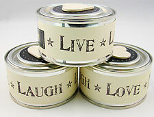 East of India Live Laugh Love Candle