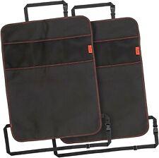 Heavy Duty Kick Mats Back Seat Protector (2 Pack) - The Sag Proof, Waterproof, 3