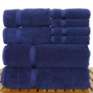 8 Pcs100% Super Absorbent Egyptian Cotton Soft & Highly Absorbent Towel bale Set