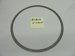 "Z - Marklin 8510 Curved Track Radius 145mm / 45° (Set of 8) Creates a 12"" Circle"