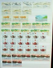 1980's China stamps collection used good condition interesting marks lot19