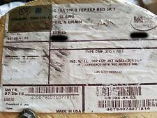 Carol C8106 18/3C Shield FEP/Teflon Plenum Control/Communication Cable Red/100ft