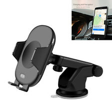 Infrared Sensor Car Air Vent Mount QI Fast Wireless Charging Holder For Phone