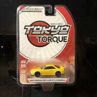 Greenlight | 1:64 Tokyo Torque Series 4 - 2001 Nissan Skyline GT-R (BNR34) | New