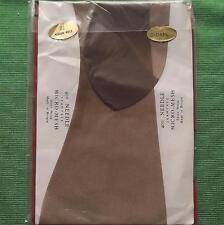 Original 1960 Fashion  Vintage Sheer Stockings Size 8.5 Dark & Vision Heels