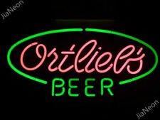 Ortlieb's Beer Real Neon Sign Light Acrylic Wall Decor Handmade Visual Artwork