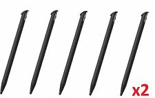 10x 2DS XL Black Stylus Rigid Plastic Touch Pen for Nintendo