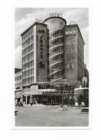 ältere AK, FRANKFURT MAIN, Juniorhaus mit Kaiserbrunnen, Reklame, Platz, Brunnen