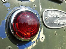 Landrover Series 1 2 2a Lucas L488 Rear Brake Tail Stop Light Glass Lens Unit