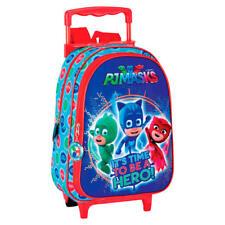 Pj Masks Time mochila infantil con carro fijo Ruedas/ Children backpack Trolley