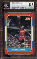 1986-87 Fleer #57 Michael Jordan BGS 8.5 (8.5 8 9 9.5) Rookie