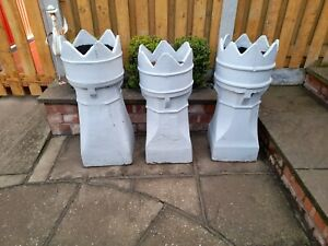 Victorian Crown Chimney Pots
