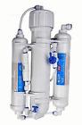 Portable Mini Reverse Osmosis 50 GPD Water System 3 Stage - Manual Flush Valve