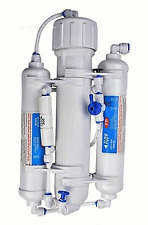 Portable Mini Reverse Osmosis 50 GPD Water System 3 Stage - Manual Flush Valve