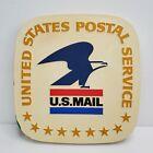 """Vintage 1970's United States Postal Service Wooden Sign 10"""" HTF"""