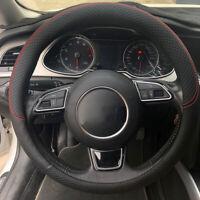 38 cm Steering wheel cover Breathable Heat resistant Accessories Black Car Parts