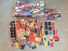 Used, not Complete, Lego Speed Racer 8160 Cruncher Block and Racer X