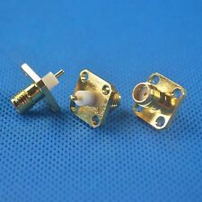 1pcs SMA female jack chassis panel mount Adapter Connector