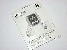PNY 8G SDHC SD card for Olympus SZ-12 31MR TG-320 820 Tough VG-160 340 camera