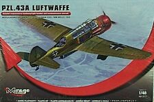 Mirage 1/48 PZL 43A Luftwaffe German Light Bomber & Recon Aircraft