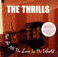 Thrills Not for RARE TRK & REMIX & VIDEO UK CD Single