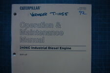 CAT Caterpillar 3406C Industrial Engine Operation Maintenance Manual operator
