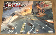 Battlestations: Pacific very rare double sided Poster 42x58cm
