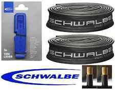 2 X 26x2.0 SV Interior Tubos Schwalbe y 3 Palancas de Neumáticos Schwalbe-Tracked entrega