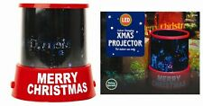 CHRISTMAS COLOUR CHANGING LED PROJECTOR Xmas Image Star Master Night Light Gift