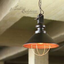 industriale lampada pendente Loft E27 LAMPADA DA PARETE MARRONE RAME Retrò Luce