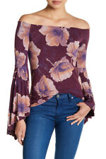 Free People Womens Birds Of Paradise OB668714 Top Mulberry Purple Size XS