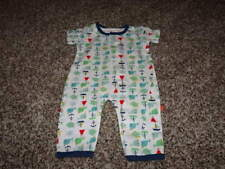 Nwot New Magnificent Baby 3M 3 Months Whale Sailboat Magnetic Outfit Boys