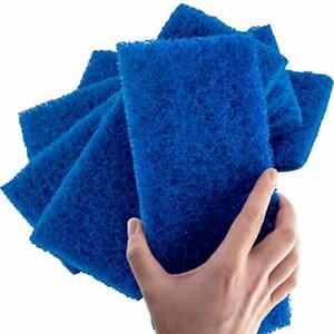Extra Large Multipurpose Blue Scrub & Scouring Pads by Mop Mob